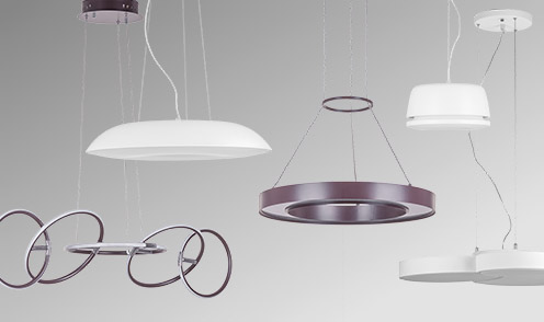 Novelties available - modern lighting series
