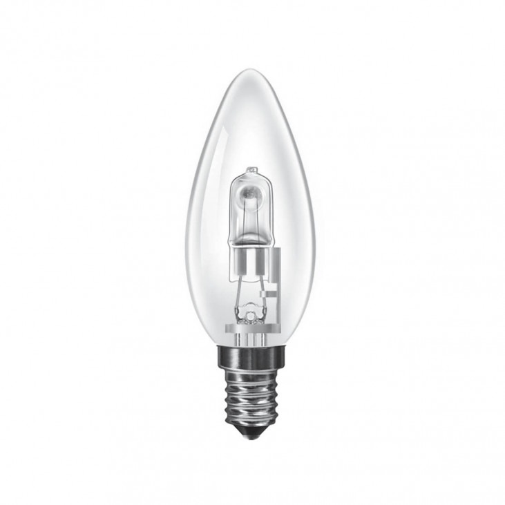 Luxram Halogen Energy Saver Candle E14  18W