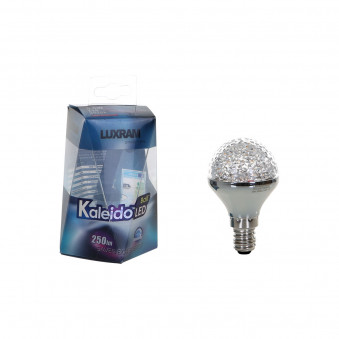 Luxram Kaleido LED Ball E14 Dimmable 4W Warmwhite Blister Pack