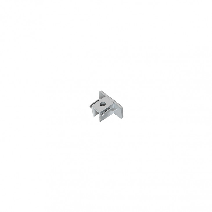 1-circuit end cap silver