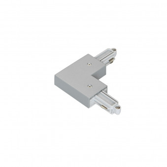 1-circuit L type connector silver I