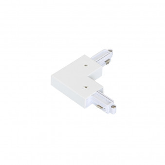 1-circuit L type connector white I