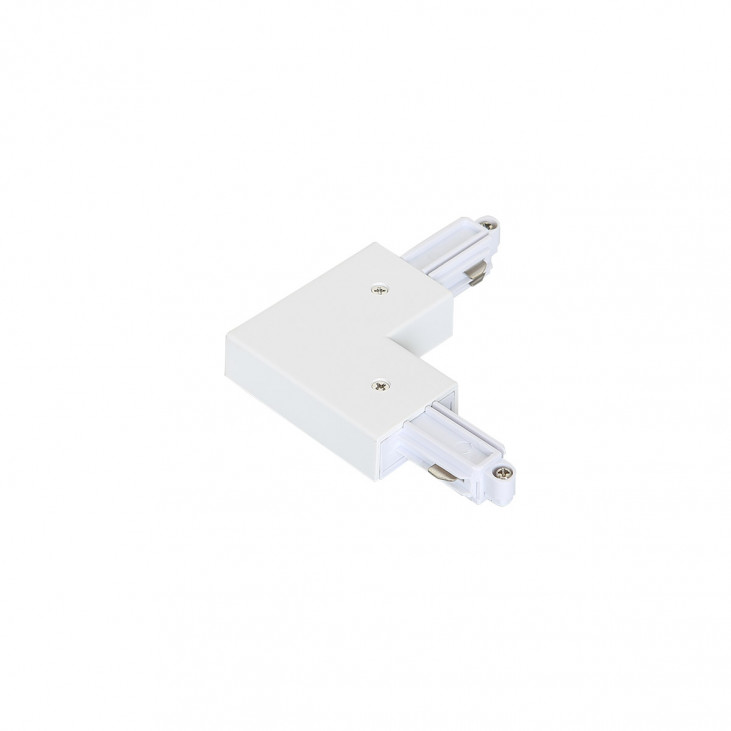 1-circuit L type connector white O
