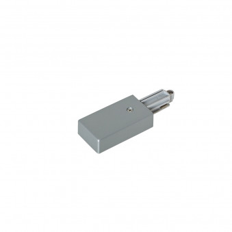 1-circuit power connector left silver