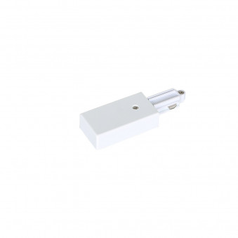 1-circuit power connector tight white