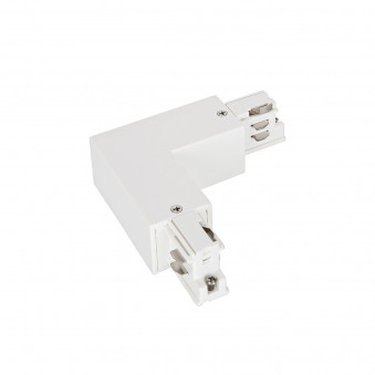 3-Circuit track Type L connector white