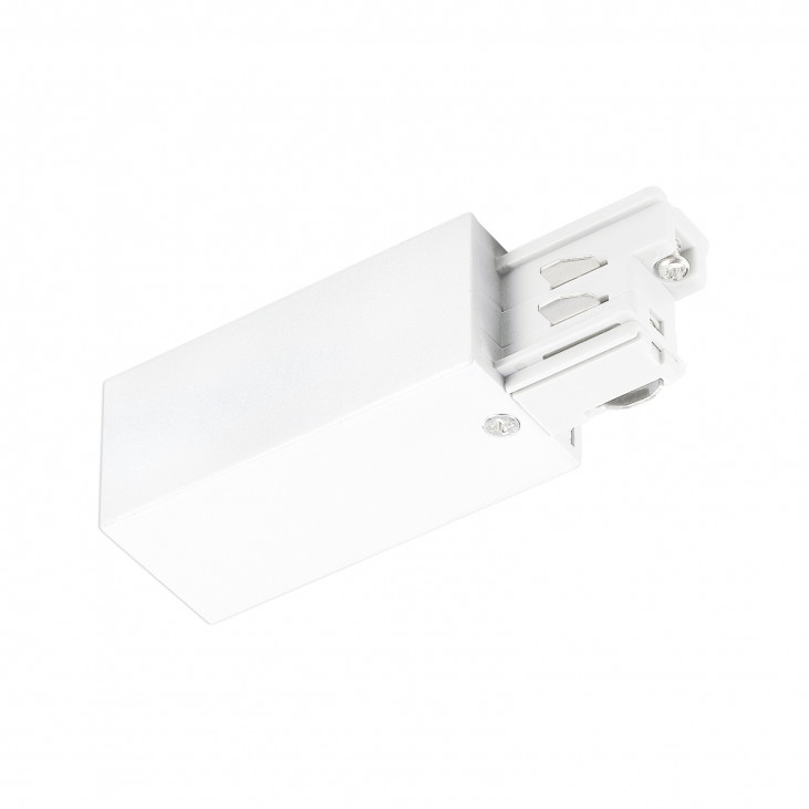 3-Circuit track Power connector white