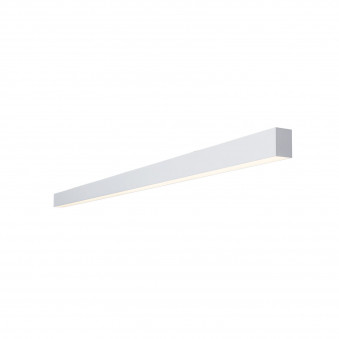 Vertigo linear ceiling white 114 prismatic